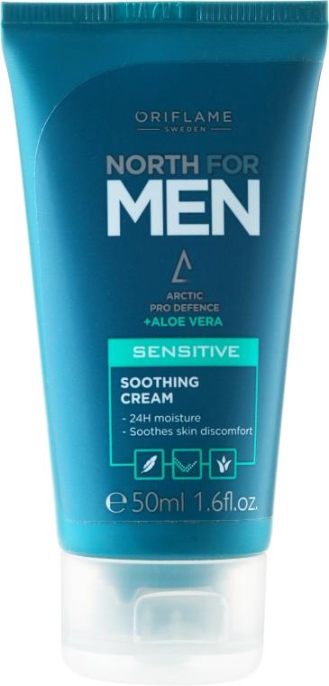 Crema viso lenitiva per pelli sensibili, da uomo - Oriflame Norht For Men Sensitive Soothing Cream