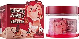 Profumi e cosmetici Peeling patch a base di vino rosso - Elizavecca Hell-Pore Perfect Wine Sparkling Peeling Pad
