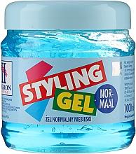 Profumi e cosmetici Gel capelli fissazzione normale - Hegron Styling Gel Normal