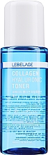 Profumi e cosmetici Tonico ialuronico al collagene - Lebelage Collagen Hyaluronic Toner