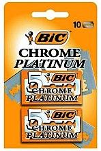 """Profumi e cosmetici Set di lame per rasoio """"Chrome Platinum"""", 10 pz - Bic"""