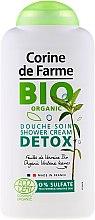 Profumi e cosmetici Gel doccia naturale con estratto di foglie di verbena - Corine De Farme Detox Shower Gel