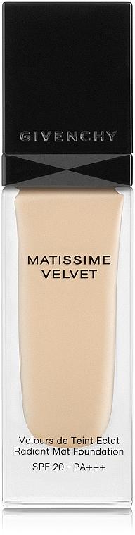 Fondotinta - Givenchy Matissime Velvet Liquid Foundation SPF 20