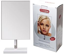 Profumi e cosmetici Specchio cosmetico in cornice, 16x30 cm, su supporto in metallo - Titania