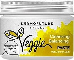 Profumi e cosmetici Pasta per pelli grasse - DermoFuture Ginger & Cucumber Pasta