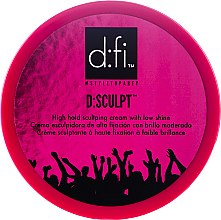 Profumi e cosmetici Crema styling dei capelli - D:fi d:sculpt High Hold Low Shine Hair Sculptor