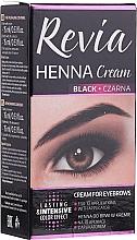 Profumi e cosmetici Henné in crema per le sopracciglia - Revia Eyebrows Henna