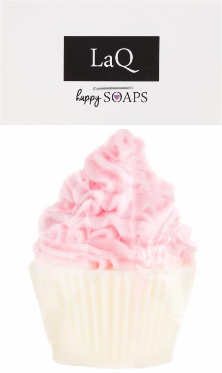 """Sapone naturale fatto a mano """"Muffin"""" con aroma di ciliegia - LaQ Happy Soaps Natural Soap"""