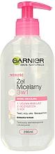 Profumi e cosmetici Gel micellare per pelli sensibili - Garnier Skin Naturals Cleansing Micellar Gel