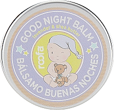 """Profumi e cosmetici Balsamo per mamma e bambino """"Lavanda e burro di karité"""" - Roofa Good Night Balm"""