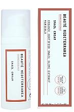 Profumi e cosmetici Crema viso rigenerante con bava di lumaca - Beaute Mediterranea Snail Cream