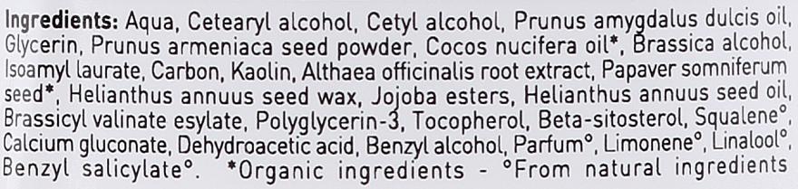 Maschera-scrub per capelli - Bio Happy Carbon Black & White Clay Scrub Mask — foto N3