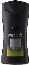 Profumi e cosmetici Gel doccia - Axe You Shower Gel