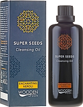 Profumi e cosmetici Olio detergente - Wooden Spoon Super Seeds Enchanting Neroli Cleansing Oil