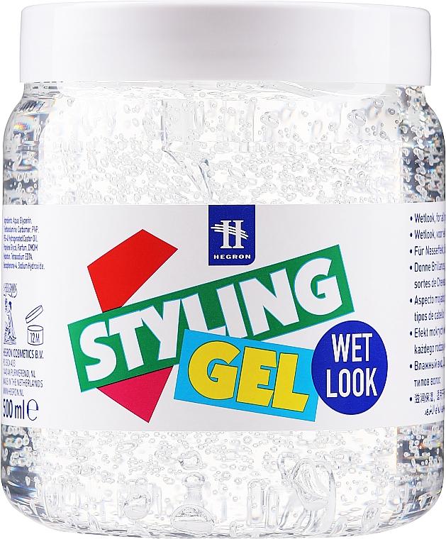"Gel per l'acconciatura ""Effetto bagnato"" - Hegron Styling Gel Wet Look — foto N1"