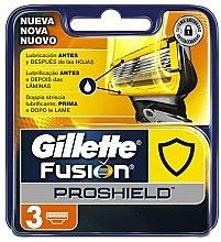 Profumi e cosmetici Lamette di ricambio, 3 pz. - Gillette Fusion ProShield