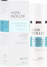 Profumi e cosmetici Gel viso idratante - Anne Moller Blockage 24h Moisturizing Defender Gel