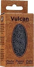 Profumi e cosmetici Pietra pomice, 84x44x32 mm, Dark Grey - Vulcan Pumice Stone