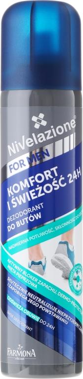 Deodorante per scarpe e piedi - Farmona Nivelazione For Men Shoe Antiperspirant — foto N1
