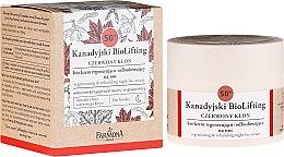 Profumi e cosmetici Bio-crema rigenerante 50+, da notte - Farmona Canadian BioLifting Red Maple