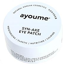 Profumi e cosmetici Patch occhi con peptide di serpente - Ayoume Syn-Ake Eye Patch