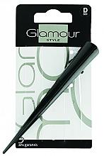 Profumi e cosmetici Fermaglio per capelli, nero - Glamour Style