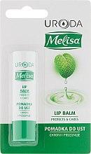 Profumi e cosmetici Balsamo labbra protettivo - Uroda Melisa Protective Lip Balm