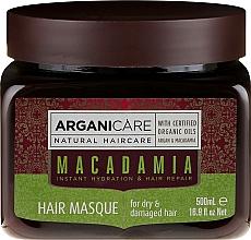 Profumi e cosmetici Maschera per capelli ultra nutriente e rigenerante - Arganicare Silk Macadamia Hair Mask
