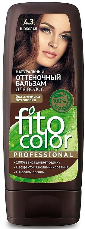 Balsamo colorante per capelli - Fito Cosmetic FitoColor Professional (3.3 -Cioccolato amaro)