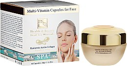 Profumi e cosmetici Capsule multivitaminiche per la cura della pelle del viso - Health And Beauty Multi-Vitamin Capsules For Face