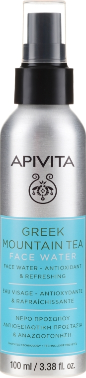 "Acqua viso antiossidante e rinfrescante ""Greek Mountain Tea"" - Apivita Greek Mountain Tea Face Water"
