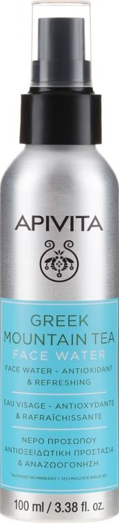 """Acqua viso antiossidante e rinfrescante """"Greek Mountain Tea"""" - Apivita Greek Mountain Tea Face Water"""