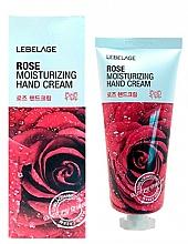 Profumi e cosmetici Crema mani all'estratto di rosa - Lebelage Rose Moisturizing Hand Cream