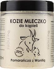 """Profumi e cosmetici Latte di capra per bagno """"Arancia e Vaniglia"""" - E-Fiore Orange And Vanilla Bath Milk"""