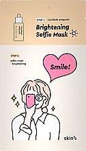 Profumi e cosmetici Maschera illuminante bifasica - Skin79 Brightening Selfie Mask