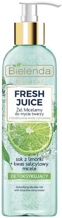 Gel micellare effetto detox - Bielenda Fresh Juice Detox Lime