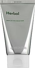 Profumi e cosmetici Maschera-peeling viso lenitiva e detox - Medi Peel Herbal Peel Tox