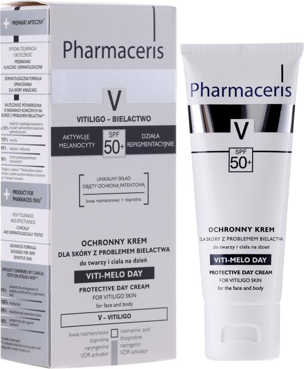 Crema viso e corpo - Pharmaceris V Vito-Melo Day Cream Spf 50 — foto N1