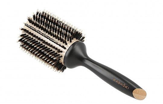 Spazzola Brushing per capelli, 50 mm - Kashoki Hair Brush Natural Beauty — foto N1