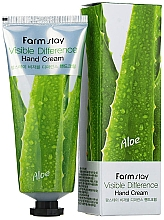 Profumi e cosmetici Crema mani all'aloe - Farmstay Visible Differerce Hand Cream Aloe
