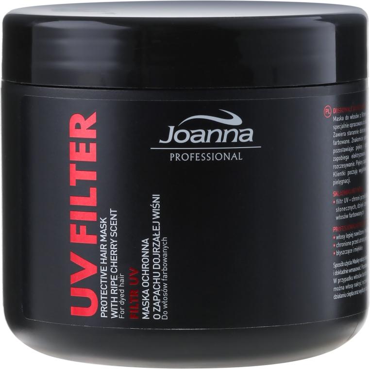 Maschera protettiva per capelli colorati con profumo di ciliegia - Joanna Professional Protective Hair Mask UV Filter