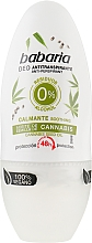 Profumi e cosmetici Deodorante roll-on alla cannabis - Babaria Cannabis Deodorant Roll-on