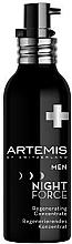 Profumi e cosmetici Concentrato rivitalizzante - Artemis of Switzerland Men Night Force Regenerating Concentrate