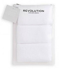 Profumi e cosmetici Asciugamani struccanti in microfibra - Revolution Skincare Microfiber Makeup Remover Towel