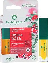 Profumi e cosmetici Olio idratante per labbra - Farmona Herbal Care Lip Oil