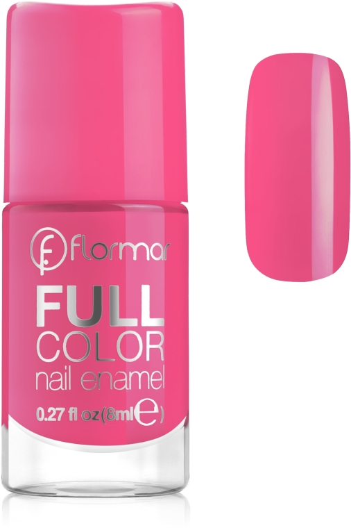 Smalto per unghie - Flormar Full Color Nail Enamel — foto N1