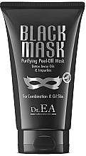 Profumi e cosmetici Maschera viso - Dr.EA Black Mask Purifying Peel-Off Mask