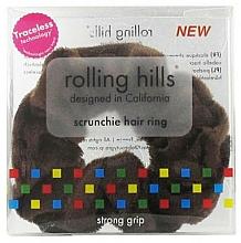 Profumi e cosmetici Elastico per capelli, marrone - Rolling Hills Scrunchie Hair Rings Brown