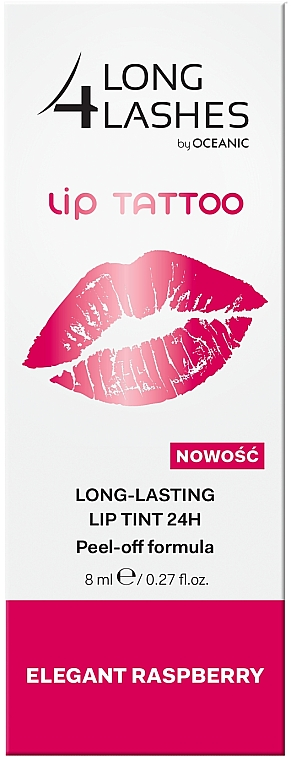 Tinta resistente per labbra - Long4Lashes Lip Tattoo Long Lasting Lip Tint 24h