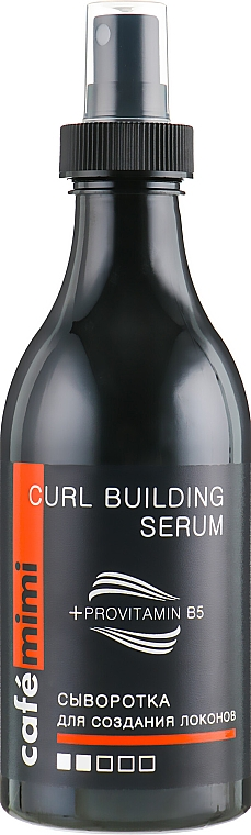 Siero per capelli ricci - Cafe Mimi Curl Building Serum